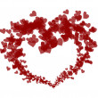 Lovely red heart — Stockfoto