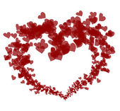 Lovely red heart — Stock Photo