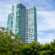 Tall condominium or apartment — Stock Photo