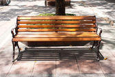 Bench public — Stock Photo
