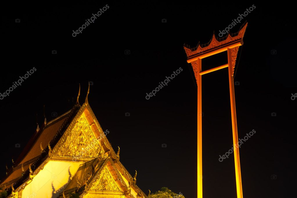 Art thai of roof in temple — Stock Photo #3820660