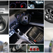 Car collage - Foto Stock