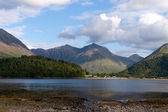 Loch Leven in Schottland — Stock Photo