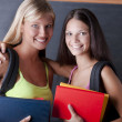 Beautiful students — Foto Stock