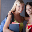 Beautiful students — Stock Photo