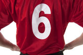 Soccer/Football player t-shirt — Stock Photo