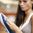 Choosing shoes! — Stock Photo