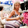 Beautiful shopping girls — Stock Photo #4167788