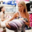 Beautiful shopping girls — Stock Photo #4167793