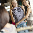 Young shoppers! — Stock Photo #4169953