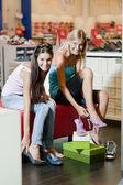 Shoes shopping — Stock Photo