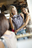 Young shoppers! — Stock Photo