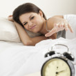 Young woman waking up — Stock Photo #4171946