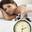 Young woman waking up — Stock Photo #4171990