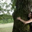 Tree hugging — Stock Photo #4189427
