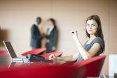 Businesswoman portrait — Stock Photo