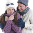 Winter Couple — Stock Photo #4207769