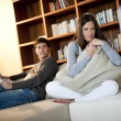 Couple Relaxing at Home — Stock Photo #4207800