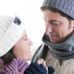 Winter Couple — Stock Photo #4208130