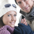 winter couple — Stock Photo #4208146