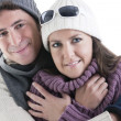 winter couple — Stock Photo #4208172