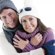 Winter Couple — Stock Photo #4208183