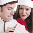 Christmas Couple — Stock Photo #4208367