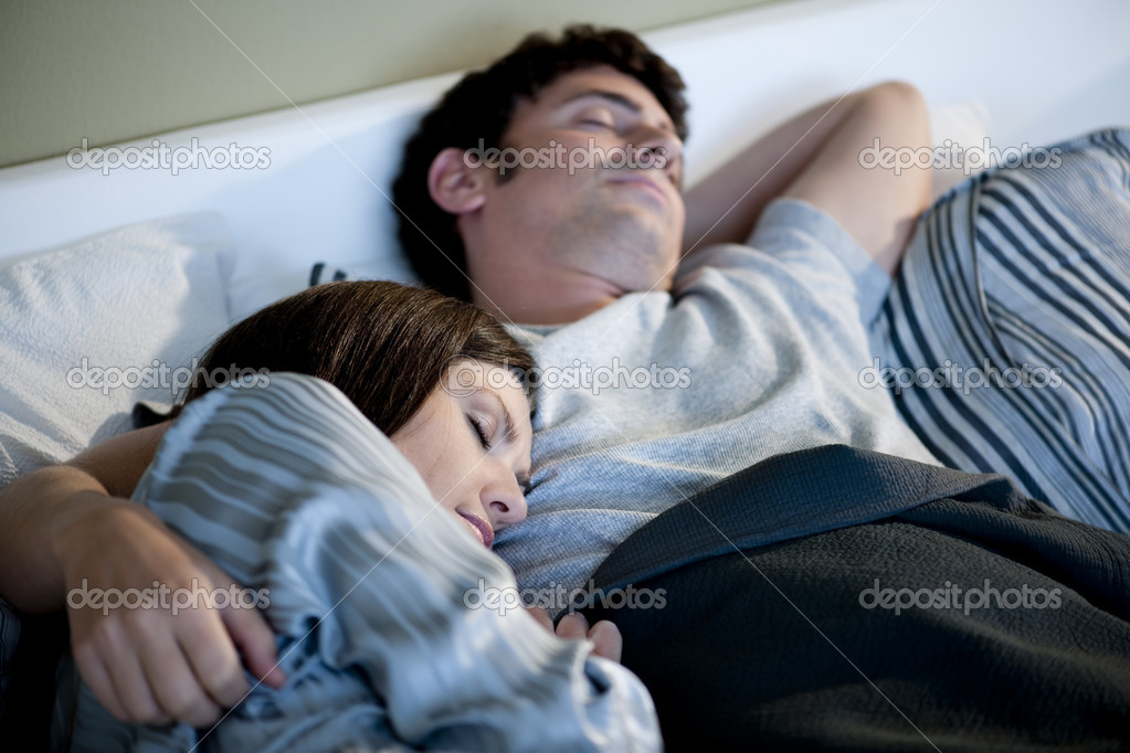 Relaxed couple sleeping  Stock Photo #4207911