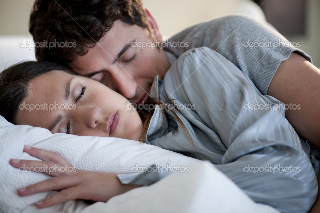 Relaxed couple sleeping  Stock Photo #4207940