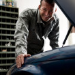 Mechanic at work — Stock Photo #4210363
