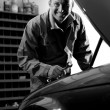 Mechanic at work — Stock Photo #4210439