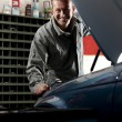Stock Photo: Mechanic at work