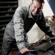 Mechanic at work — Stock Photo #4210645