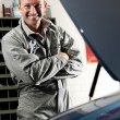 Mechanic at work — Foto Stock