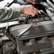 Repairing car - Stock Photo