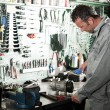 Mechanic at work - Foto Stock