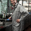 Mechanic at work — Stock Photo #4210872