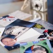 Photographs on table — Stock Photo #4215829
