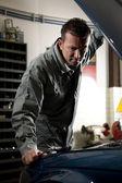 工作的机械师 — 图库照片