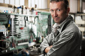 Mechanik w pracy — Zdjęcie stockowe
