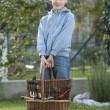 Little Gardener — Stock Photo