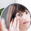 Woman In The Mirror — Stock Photo #4397874