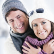 Winter Couple — Stock Photo #4399355
