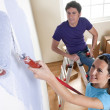 Painting the New Home — Stock Photo #4414509
