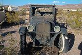Antique Junk Car - HDR Image — Stock Photo