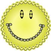 Big smile — Stock Vector