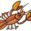 Crayfish - Stock Vector