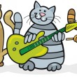 Cats band — Stock Vector