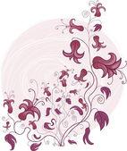 Ornamento floral — Vetor de Stock