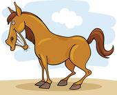 Farm animals: Horse — Stock Vector
